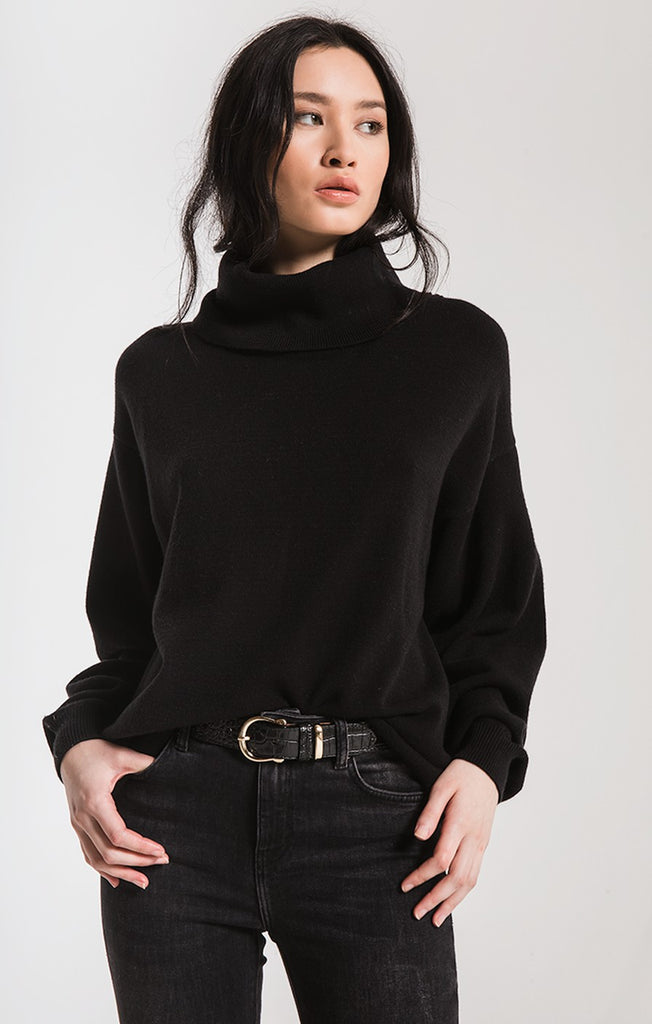 Ft. Greene Turtleneck Sweater In Black