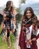 Grace & Lace 'Pocket Poncho Scarf' – Autumn Nights