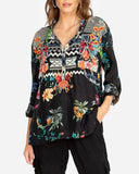 Veda Silk Blouse by Johnny Was