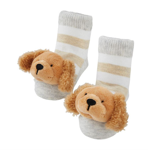 Golden Rattle Toe Socks