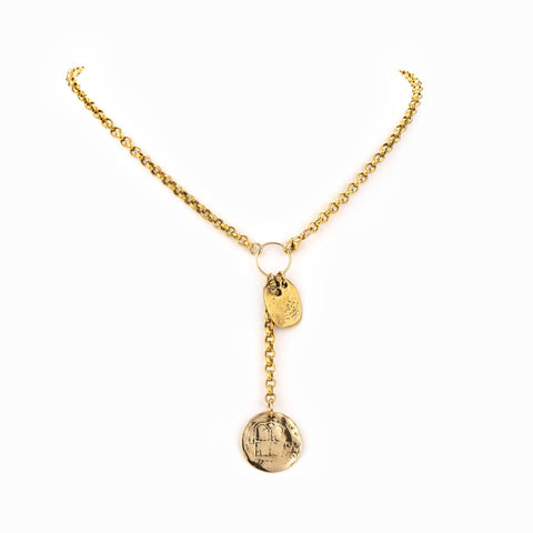 Taylor & Tessier Emberly Drop Necklace