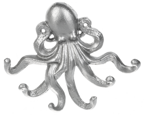 Octopus Hook Wall Decor