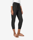 Mirabella Drawcord Pull-On Jogger, Black