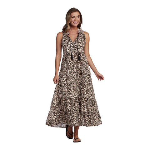 Eason Maxi Dress, Leopard