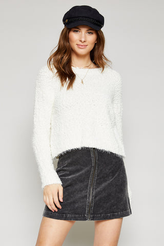 Fireside Popcorn Sweater