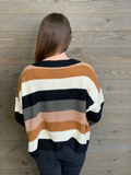 Chrissy Color Block Sweater