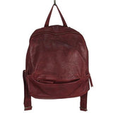 Latico Leathers Fletcher Leather Backpack in Oxblood