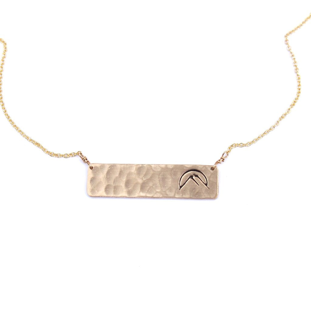 Jamison Rae Glamping Necklace In Gold