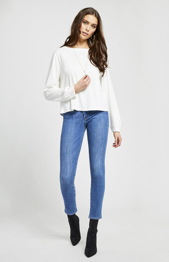 Gentle Fawn HAZE TOP In White