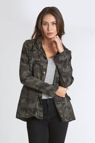 Jenny Surplus Camo Jacket