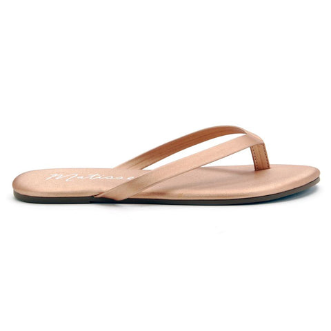 Matisse Laguna Sandals In Bronze