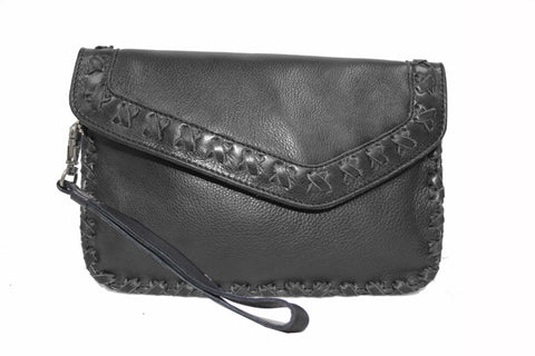 Marlin Black Clutch