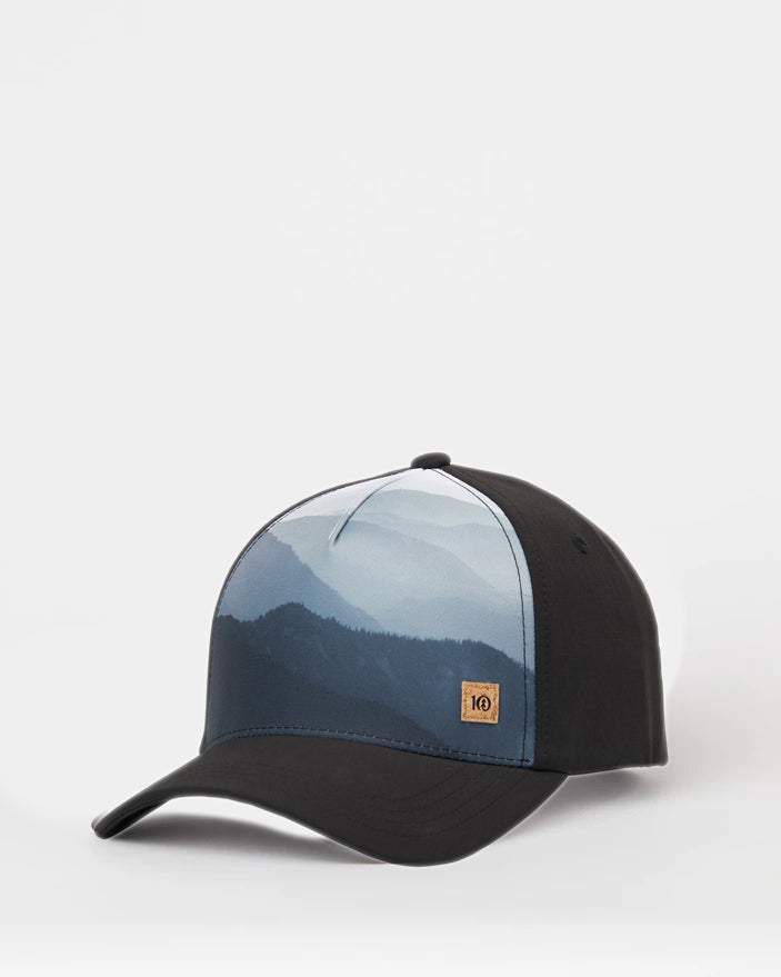 5 Panel Mountain Altitude Hat by tentree, Sub Black