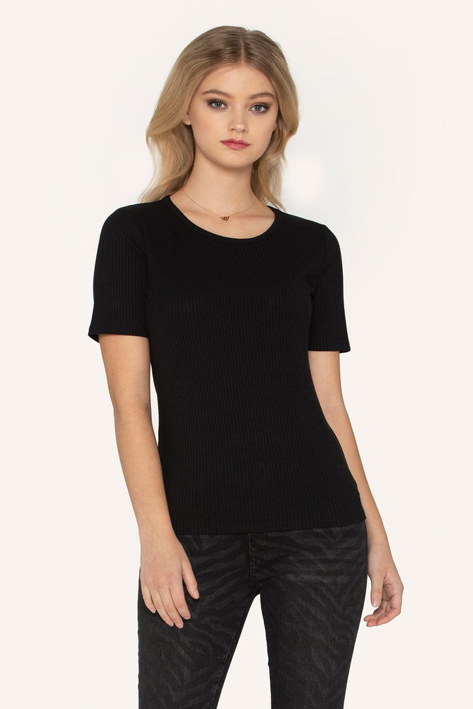 """Clarity"" Top in Black"