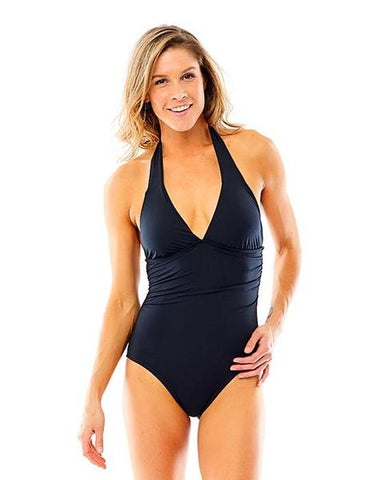 Carve Designs Alexandra One-Piece Swimsuit In Black