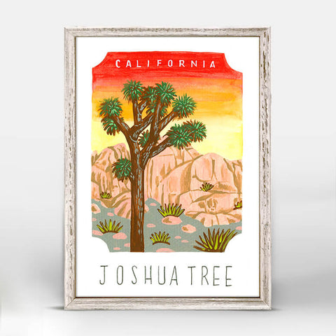 JoshuaTree National Park Mini Framed Canvas