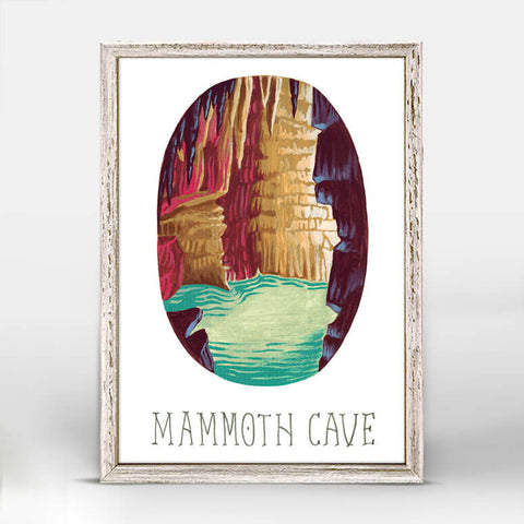 Mammoth Cave National Park Mini Framed Canvas