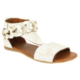Loop DLoop Sandals In White