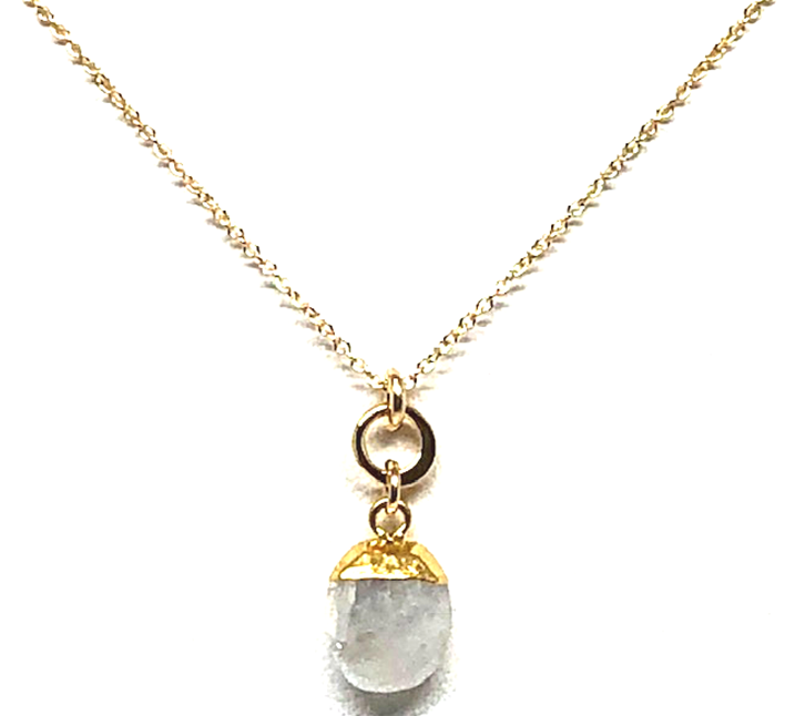 Janis Moonstone Pendant Necklace