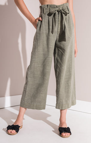 Rag Poets Padma Paper Bag Trousers