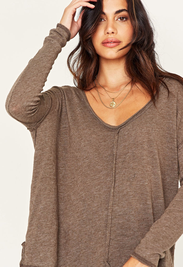"""Get Up & Go"" Top in Hickory"
