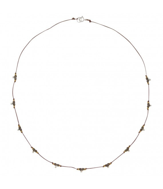 Pyrite Trail Necklace