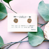 Rose Gold Druzy Cluster Earrings Jax Kelly
