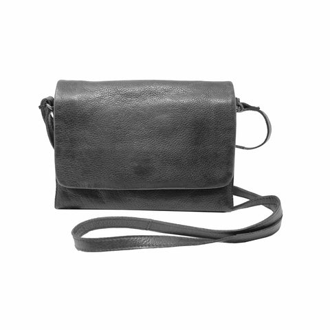 Latico Leathes Serge Crossbody In Black