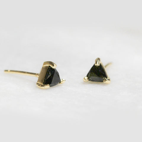 Jax Kelly Black Tormaline Mini Energy Earrings