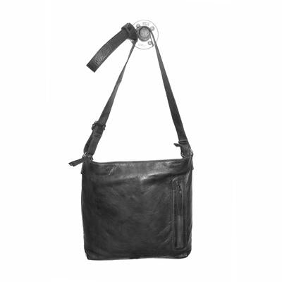 Latico Leathers Turner Crossbody In Black