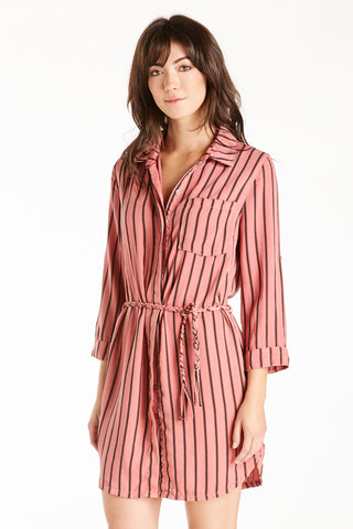 Wendy Shirtdress Sunset Coral Dear John Denim