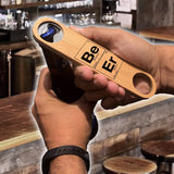 Beer Periodic Elements Wood Speed Bottle Opener