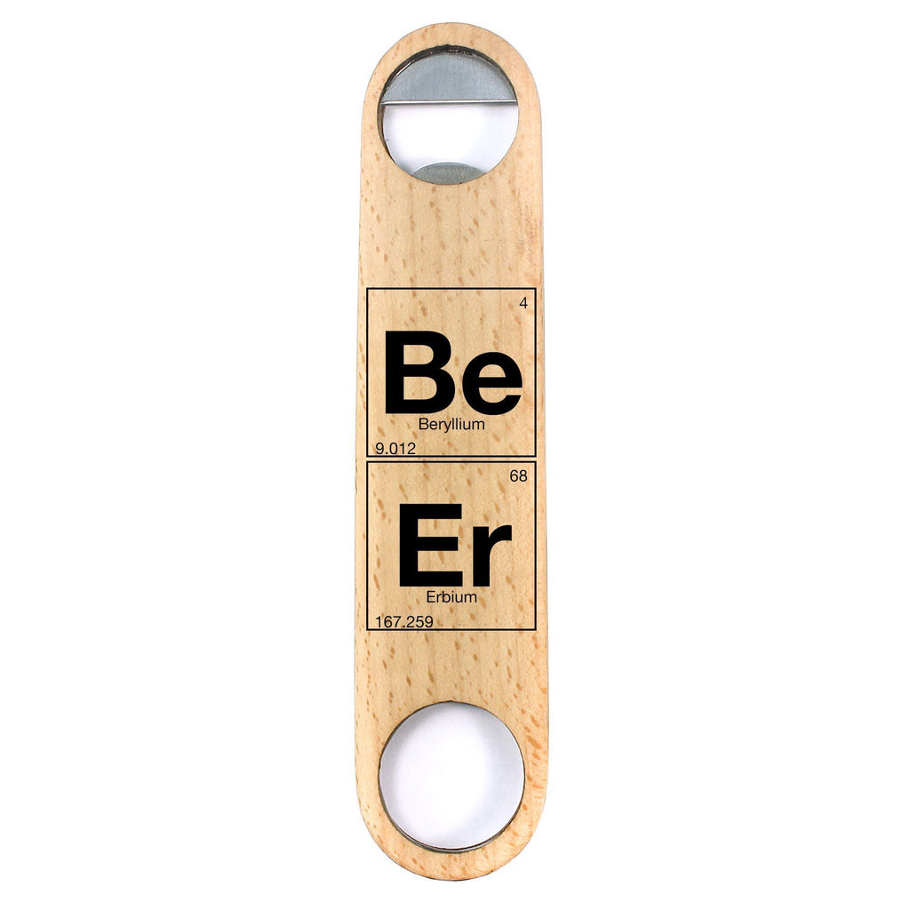 Beer Periodic Elements Design Bottle Opener