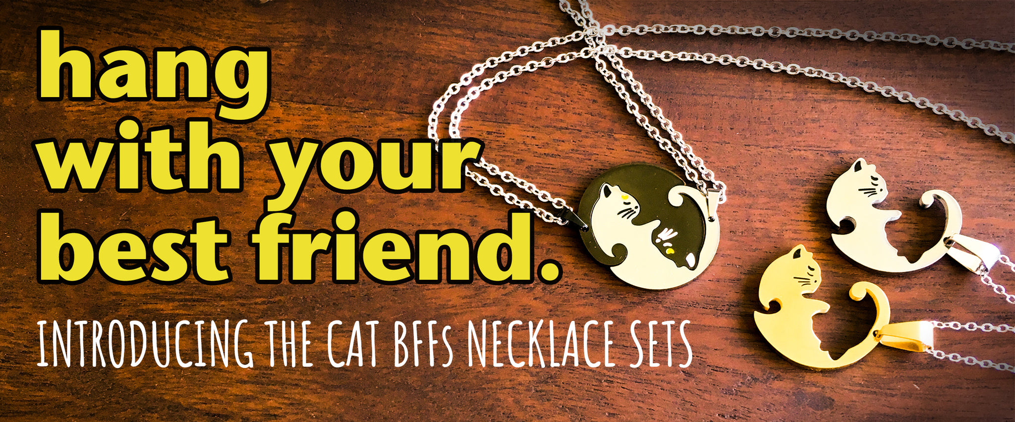 cat necklaces
