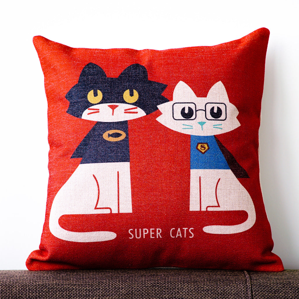 Super Cats Cushion