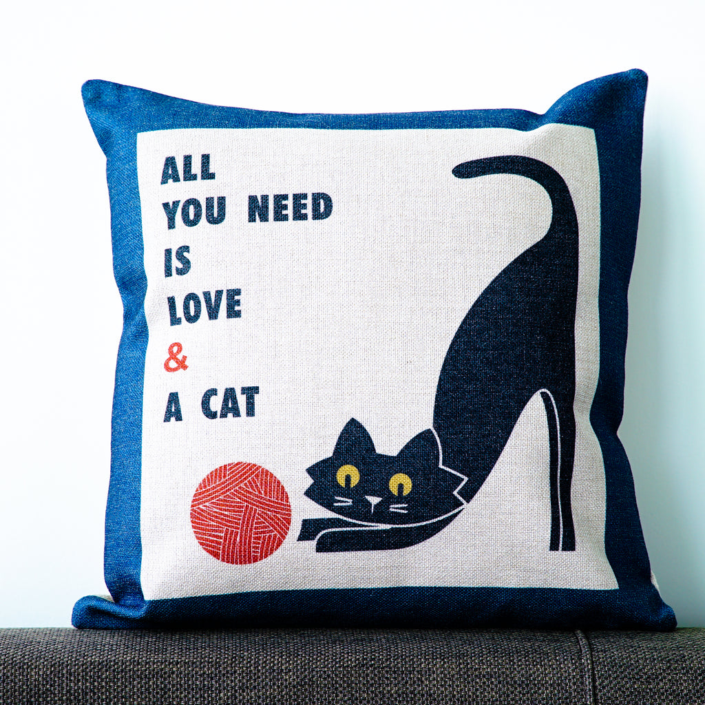 All You Need Is Love & A Cat Cushion