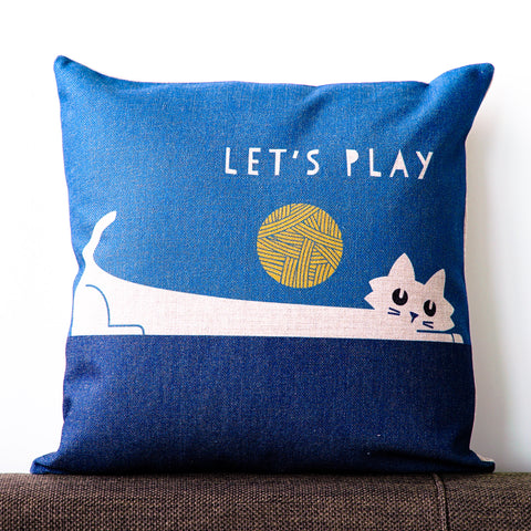 Let's Play Cushion