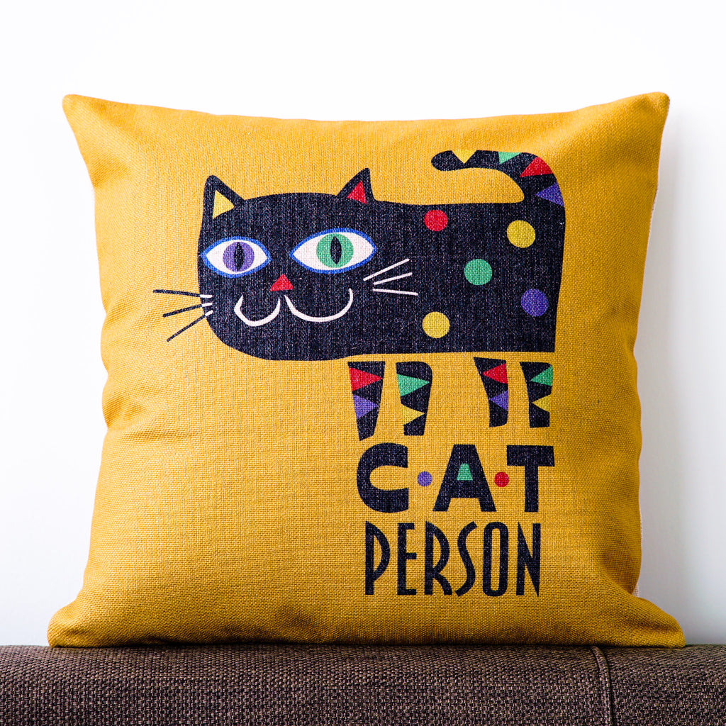 Cat Person Cushion