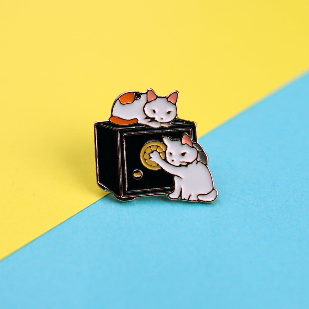 Cat Burglars Enamel Pin