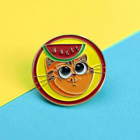 Catomelon Mascot Pin