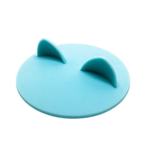Cat Ears Cup Lid - Sky Blue