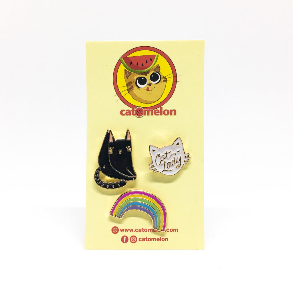 Over the Rainbow Pin Set