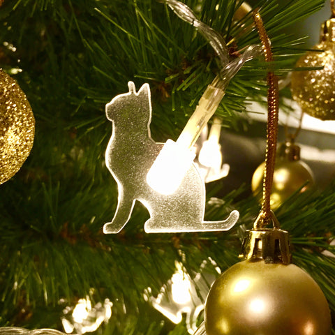 LED Decorative Cat Lights - Proud Cat