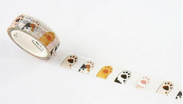 Cat Paw Washi Tape