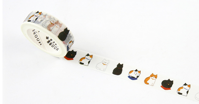 Sitting Cat Washi Tape