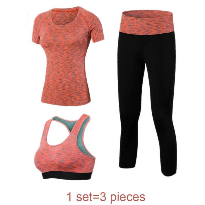 Women's 3-Piece Fitness Yoga Set