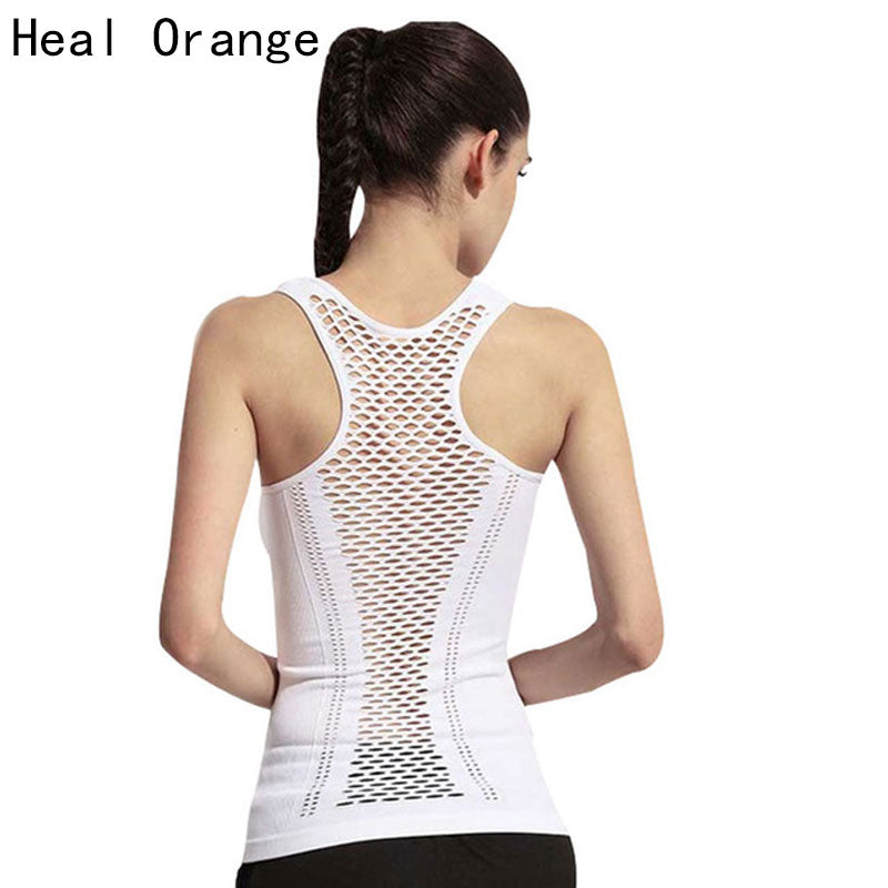 Women's Hollow Back Yoga Top