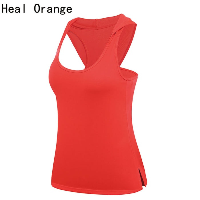 HEAL ORANGE Women's Yoga Dry Fit Shirt