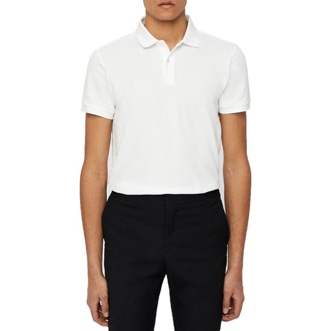 J.Lindeberg Kye Reg Cotton Poly Polo - Navy Melange