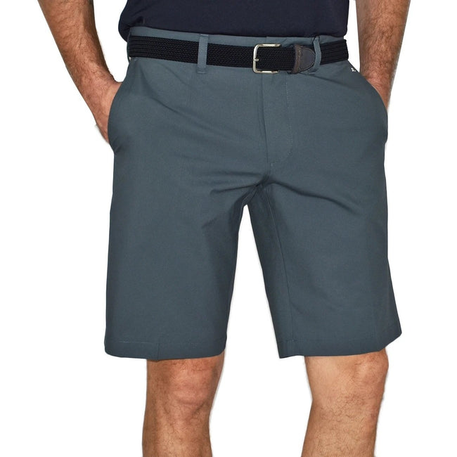 J.Lindeberg Somle Reg Fit Light Poly Golf Shorts - Dark Grey